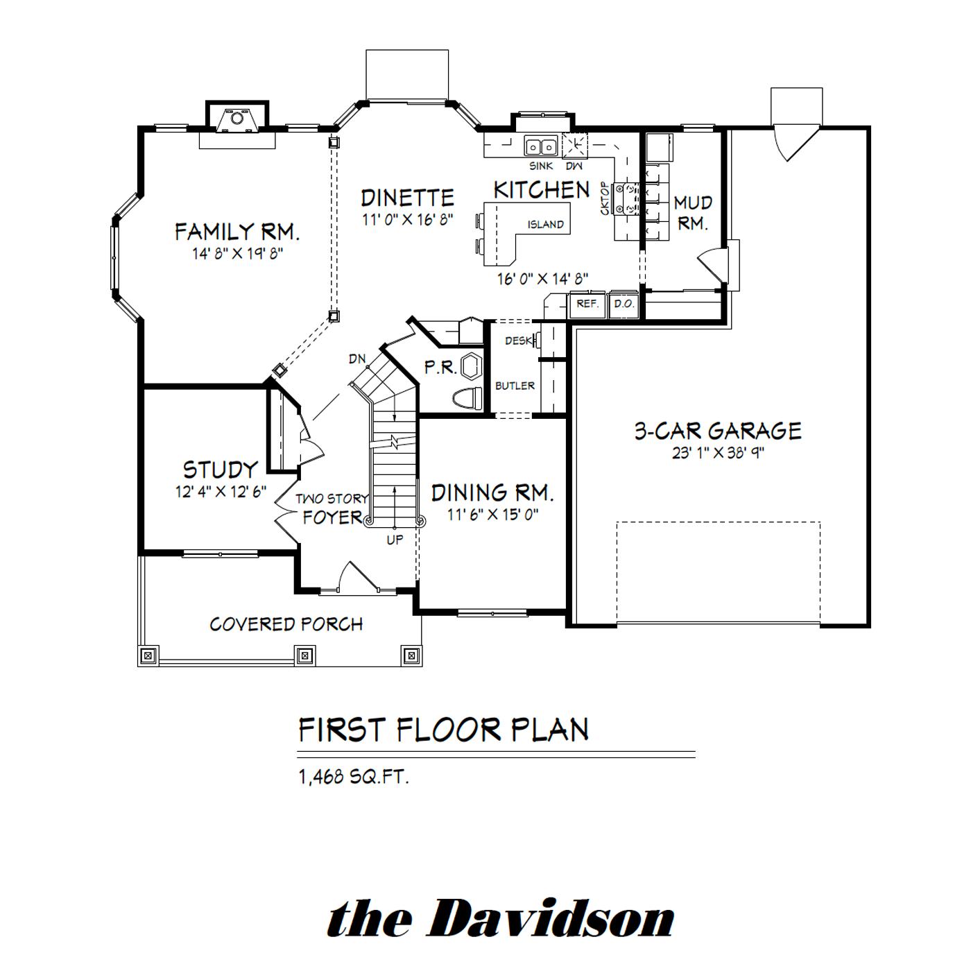 Davidson First floor