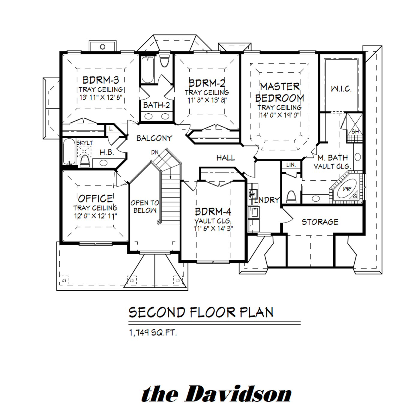 Davidson Second Floor